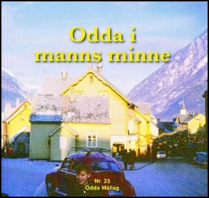 "Framsida til ""Odda i manns minne"", nr. 23"