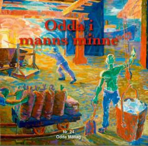 Framsida til OIMM nr. 24 er Ragnar Grønsdal sitt maleri i kommunestyresalen på Odda rådhus.