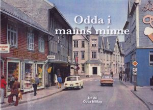Framsida til Odda i manns minne nr. 28